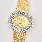 Geneva Ladies Watch 14k Gold and Diamonds